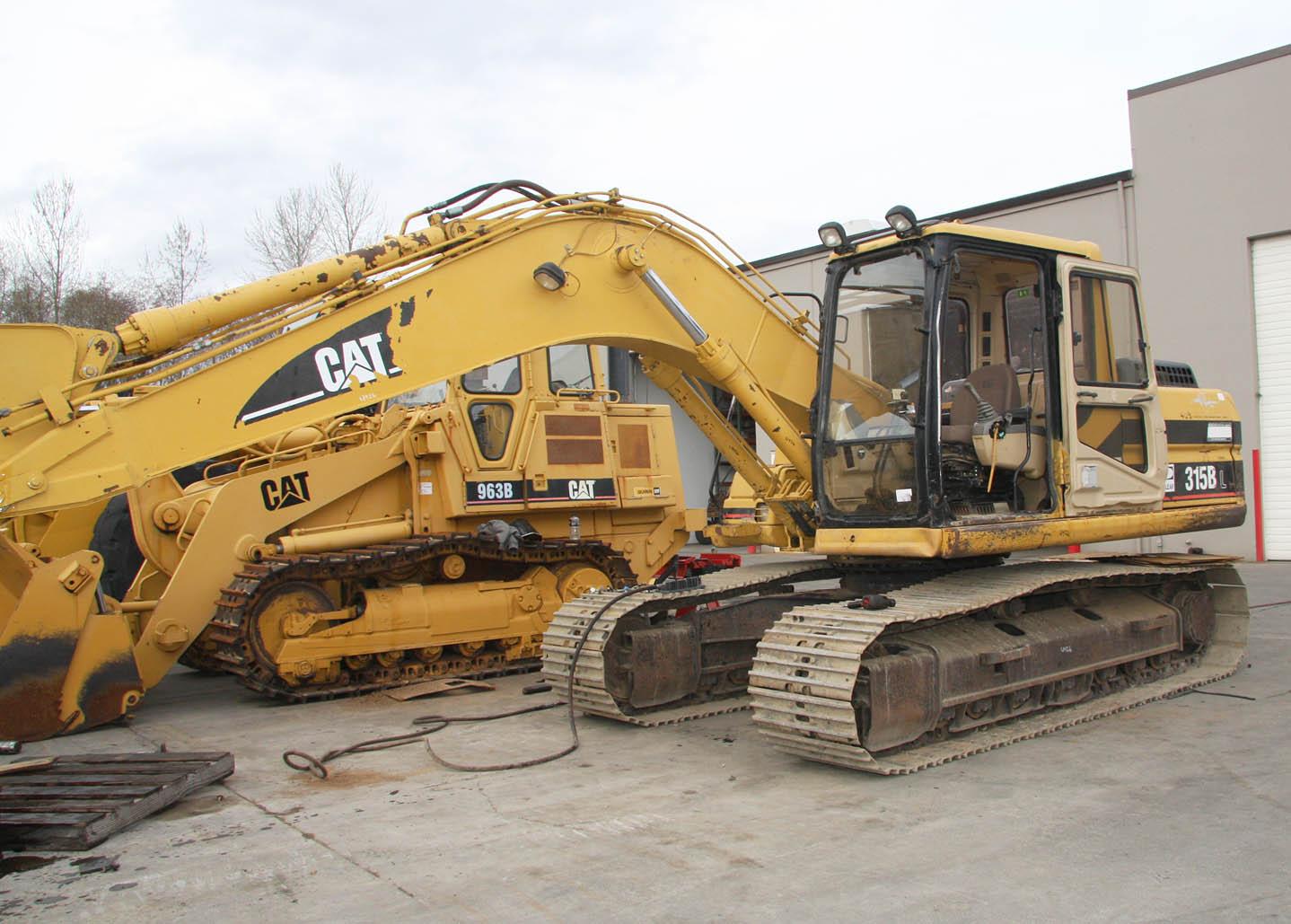 315BL Excavator
