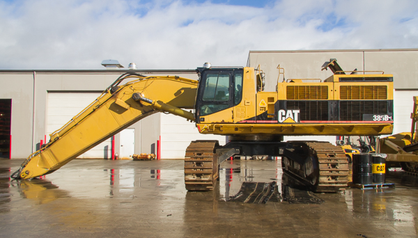 385B Excavator for dismanting